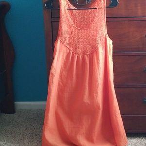 Orange Wrangler Dress